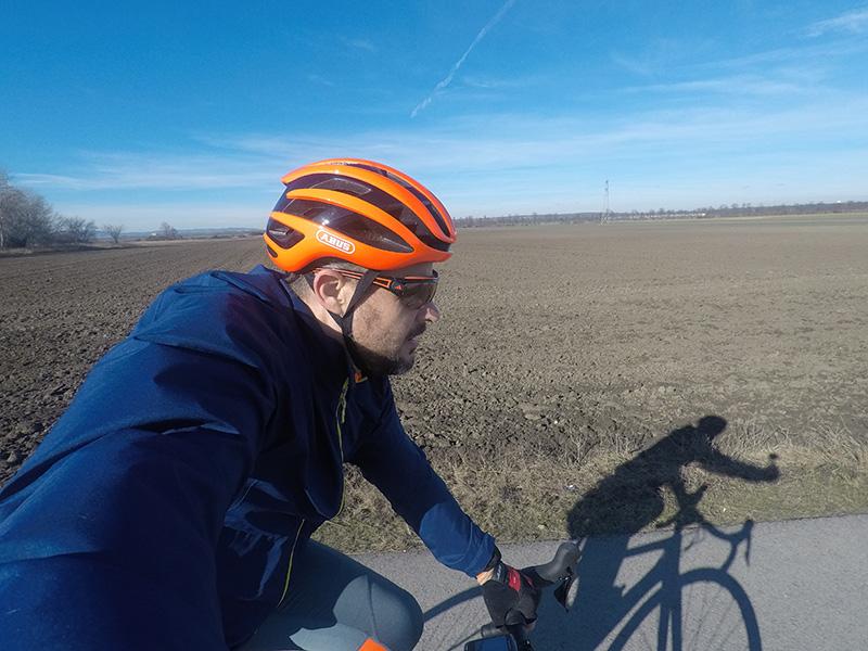 Rennradtraining Runde