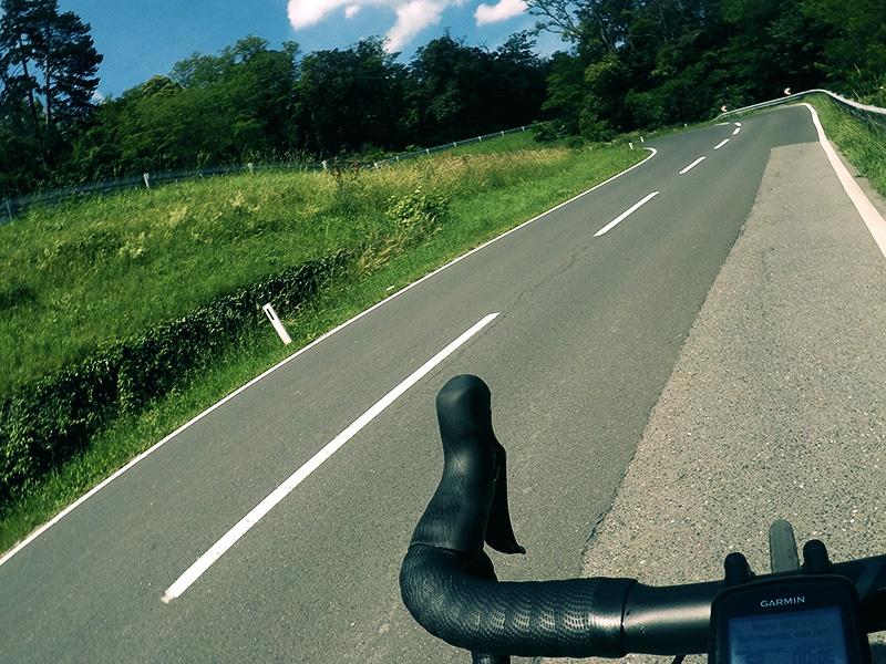 Rennradstrecke Leithagebirge