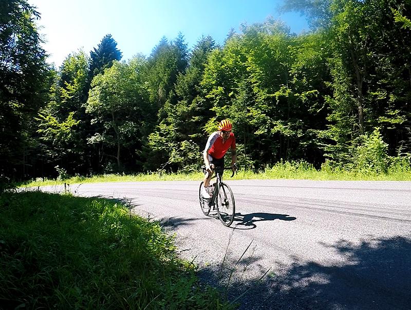 Rennradtraining Juni