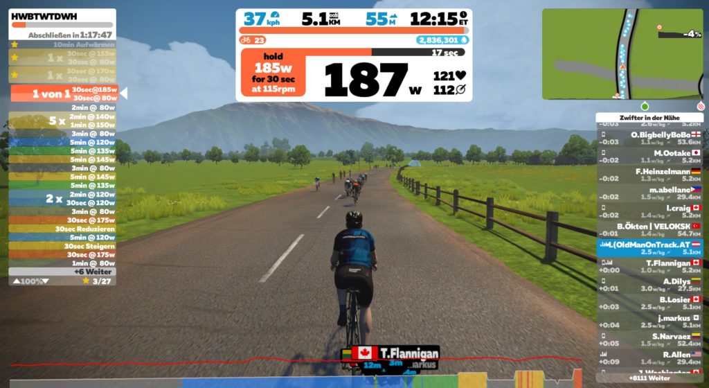 Zwift Build Me Up HWBTWTDWH